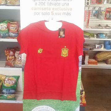 Consigue tu camiseta de la roja
