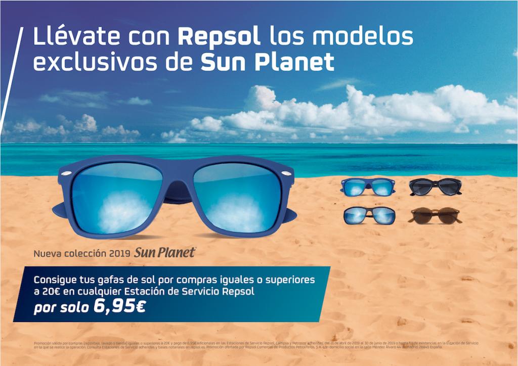 venta caliente online e017b 8cc54 Promo Gafas Sun Planet Verano 2019 | Estación de Servicio ...