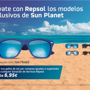 Promo Gafas Sun Planet Verano 2019
